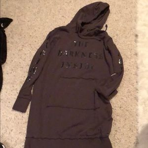 H & M tunic sweatshirt small